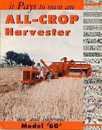 AC08 Allis-Chalmers All-Crop 60