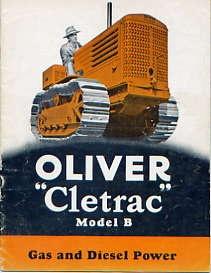 AM01 Oliver Cletrac Model B