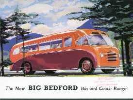 BU01 Bedford Bus And Coach  Range