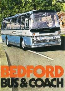 BU02 Bedford Bus And Coach  Range 1972