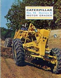 C02 Caterpillar 14 Grader