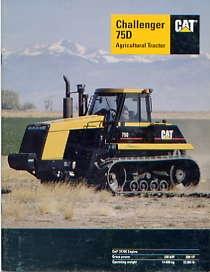 C07 Caterpillar Challenger 75D