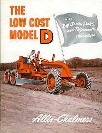 CN16 Allis-Chalmers Model D Grader