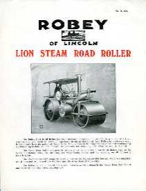 CN03 Robey Lion Steam Road Roller