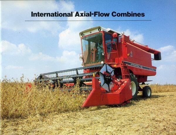International axial-flow combines