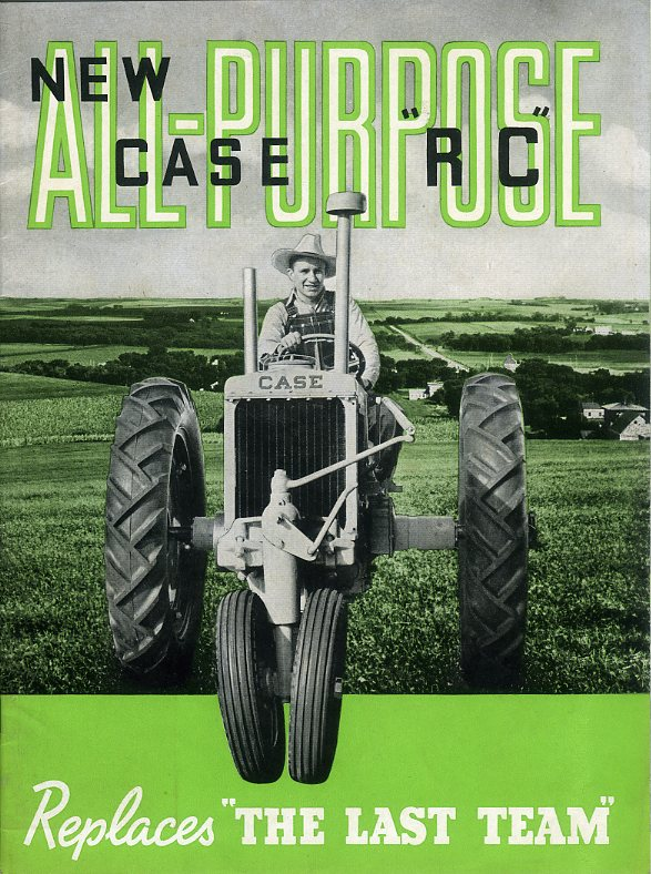 Case RC tractor