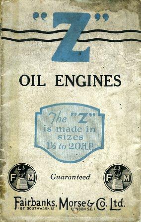 EG01 Fairbanks-Morse Z Engines