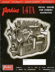 EG17 Perkins L4TA Combine Engine