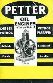 EG02 Petter Oil Engines