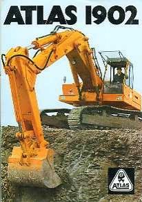 EM16 Atlas 1902 Excavator