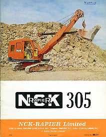 EM06 NCK-Rapier 305 Excavator