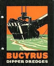 EM09 Bucyrus Dipper Dredges