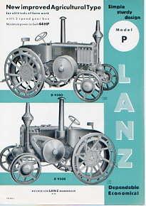 G05 Lanz D9500 Model P