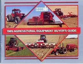 IH23 Case IH 1989 Buyers Guide
