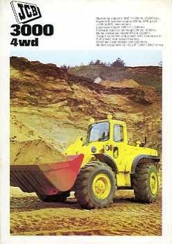 J05 JCB 3000 Wheel Loader