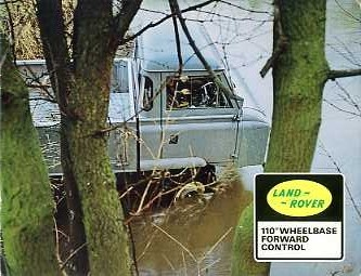 LR10 Land Rover Forward Control 110in