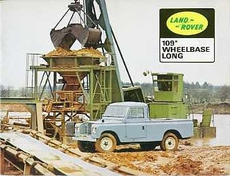 LR14  Land Rover Series 2A 109in