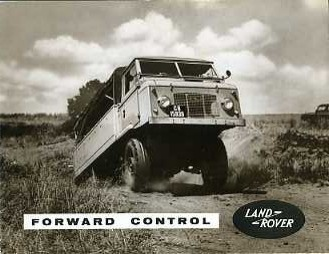 LR09 Land Rover Forward Control 109in