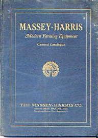 MH01 Massey-Harris Catalogue No.81