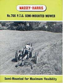 MH15 Massey-Harris 706 Mower