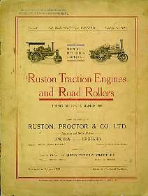 ST10 Ruston Traction Engines & Road Rollers