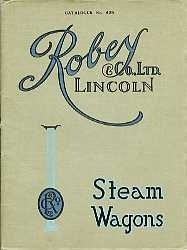 ST03 Robey Steam Wagons