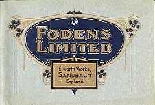 ST04 Foden Steam Wagons