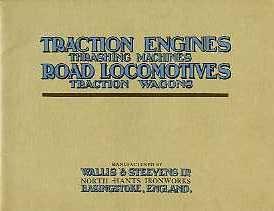 ST05 Wallis & Steevens Catalogue