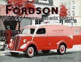 V01 Fordson 5cwt & 10cwt Vans