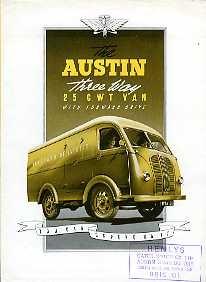 V11 Austin Three-Way 25cwt Van