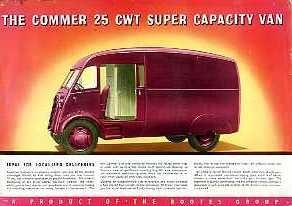 V05 Commer 25cwt Van