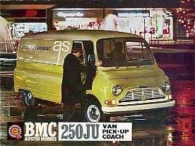V07 BMC 250JU Van