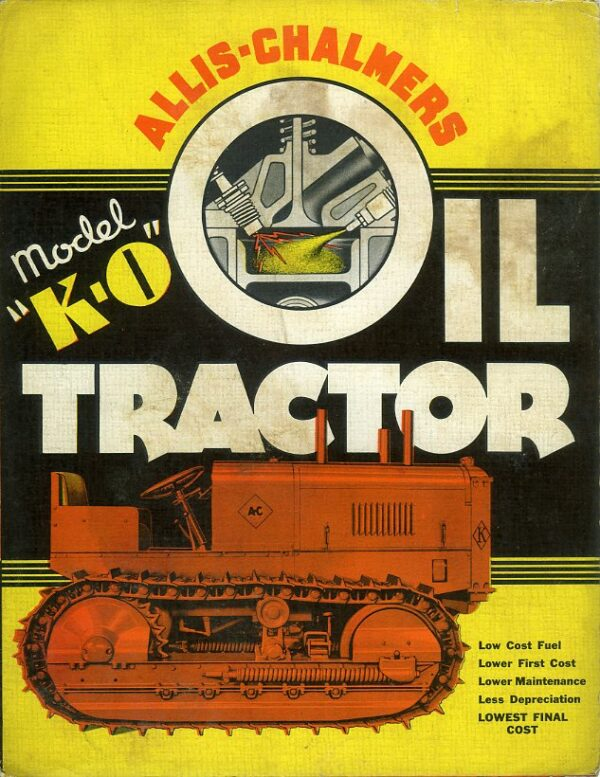 Allis-Chalmers KO Model tractor