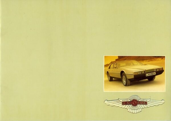 Aston Martin Lagonda V8 car