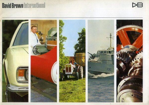 DAvid Brown Aston Martin brochure
