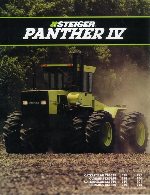 Steiger Panther IV tractor