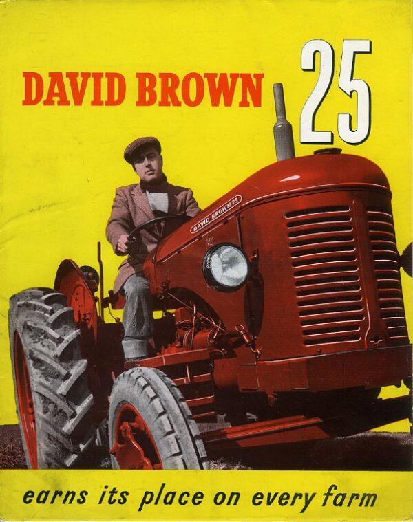 David Brown 25 tractor brochure
