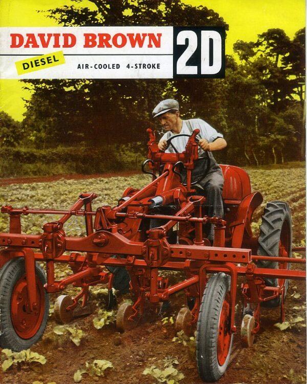 David Brown 2D tractor