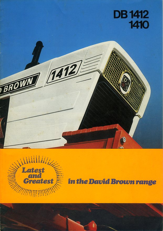 David Brown brochure