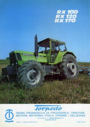 Torpedo tractor brochure