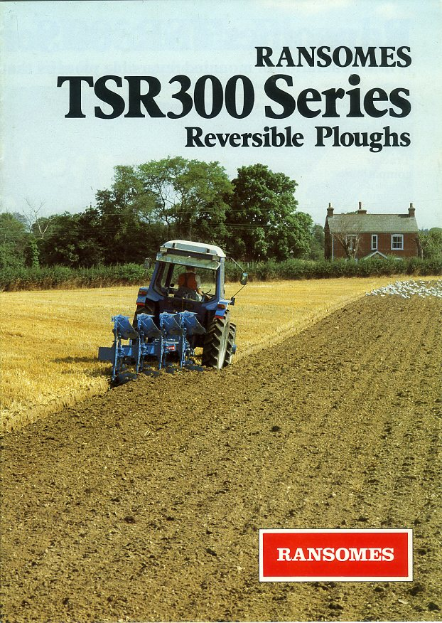 Ransomes TSR 300 Series ploughs