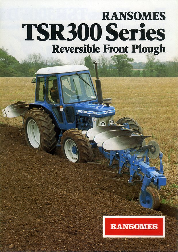 Ransomes front plough
