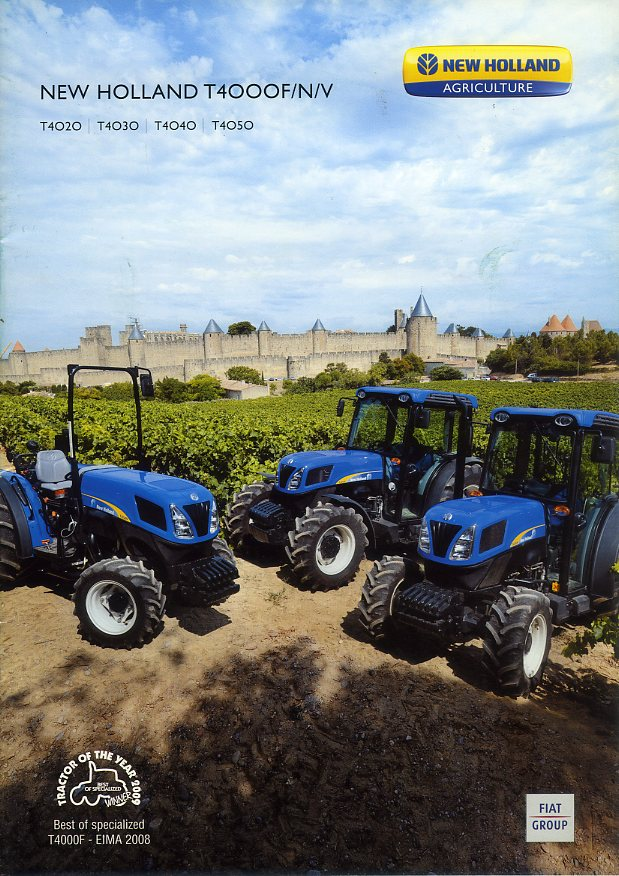 New Holland T4000