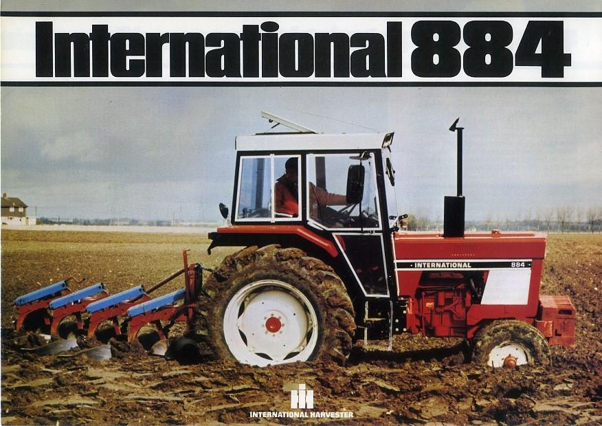 international 884 tractor