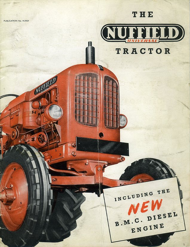Nuffield Universal tractor