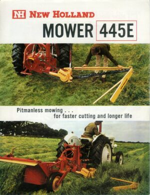 new holland mower