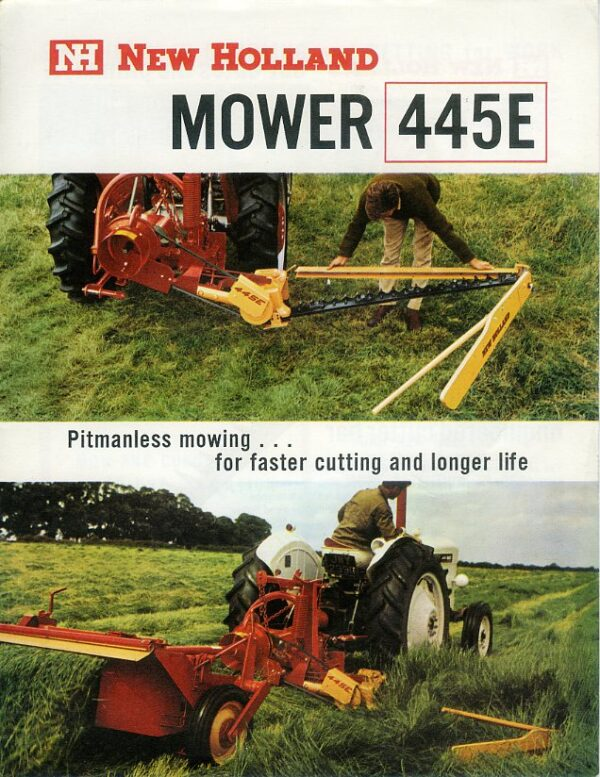 new holland mower