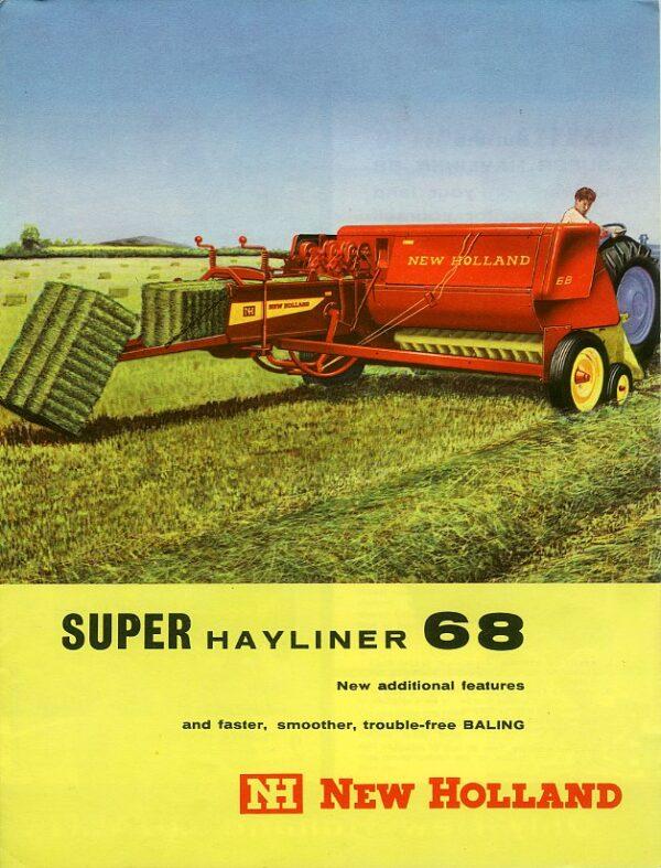 new holland super hayliner baler