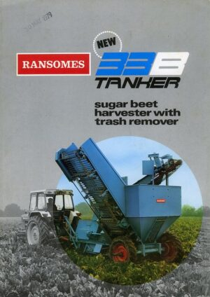 ransomes beet harvester